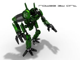 Abiant green robo by robee86