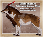 Beast Adopt Auction No.2 (CLOSED) by NinjaKato