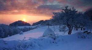 White sunset by Le-docteur-fou