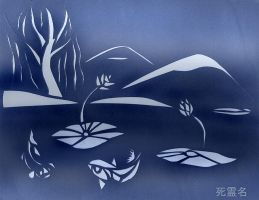 Papercut Garden by SirCrocodile