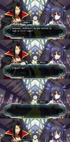 Hyperdimension Neptunia X Blazblue Comic Part 5 by pratama221