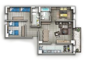 FLOOR PLAN by TALENS3D