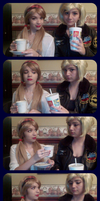 Want Some? (Fem!America and Fem!England Cosplays) by LukaMegurine78