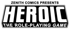 HEROIC the RPG Title by ZenithComics