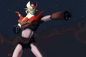 Mazinger Z 2011 by BLUESPHINX