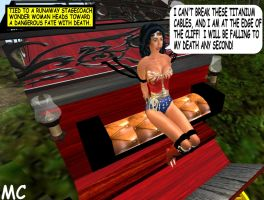 Wonder Woman's Western Stagecoach Peril by The-Mind-Controller