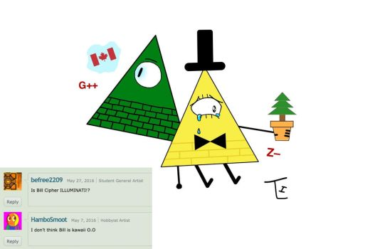 Illuminati and Bill Cipher part 2 by TLH-Inflator