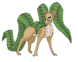 Fakemon: 003 Lefirral V4 by bubblewrap-pancakes