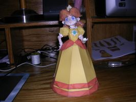 Princess Daisy Papercraft by KitzyBitzyy
