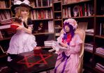 Marisa and Patchouli by Augustsleep