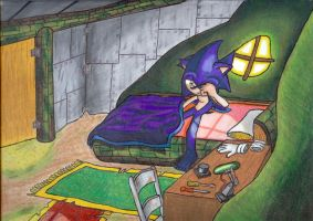 Dimonze: Good Morning Sonic by Lord-Kiyo
