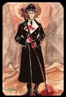 Heydrich tarot: Page of wands by hello-heydi