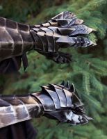 Nazgul (Lord of the Rings) Gauntlets by SpenceOlson