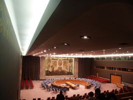UN conference room. by viet1098