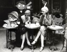 cafe 20s by melivillosa