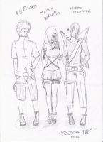 Official Team 18 sketch by Kotsune154