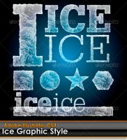 Ice Illustrator Style by gruberdesigns