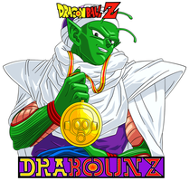Piccolo with toriyama's medal by DrabounZ