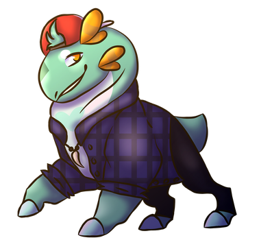 Weekly Prompt - Here comes dat boi by TyrantZeDino