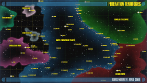 Star Trek Star Chart by Hayter