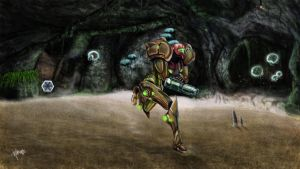 Metroid Prime by KlausBoss