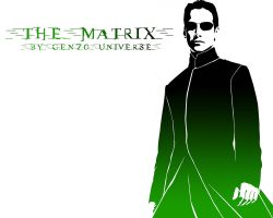 The Matrix by genzouniverse