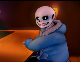 Sans' Break by Gege900