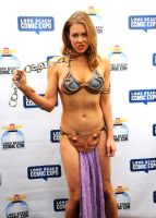 Maitland Ward | Leia Slave | Cosplay by c-edward
