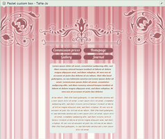 20 points Pastel Rose Custom Box Code by TaNa-Jo