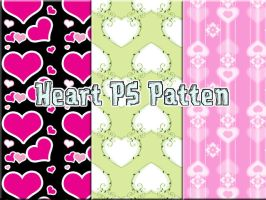 Heart Photoshop Pattern by petermarge