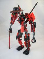 Bionicle MOC:Plague Doctor 2.1 by 3rdeye88