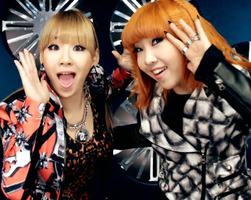 So cute, Minzy and CL by Little-Myss-Sunshine