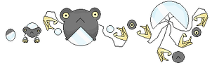 Fakemon Evolution Chart 2 by jumpit13