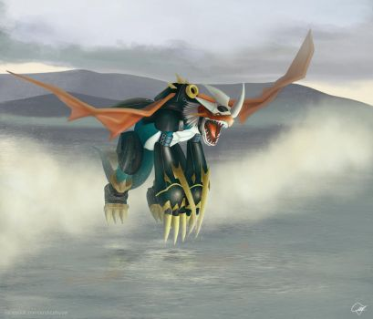 Imperialdramon by tendou