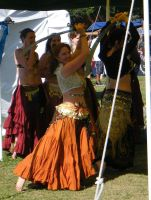 Belly Dancer at the Medieval Fair 01 by wolf74145