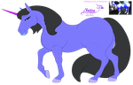 schmoe42's Nellie balloon Horse fully Colored_prog by wsache007