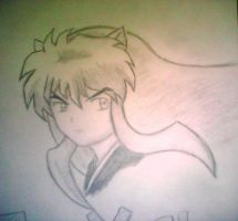 Inuyasha by XSlappyTheDummyX