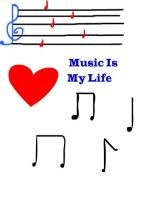 Music is life by Musicislove12