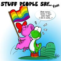 Stuff people say 079 by FlintofMother3