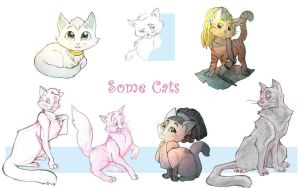 Some cats by lythis57