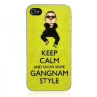 Keep Calm And Show Some Gangnam Style iPhone 4 / 4 by tracylopez