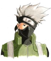 Hatake Kakashi by liltiffy107