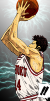 Mitsui with Thunders by CloudDozyo
