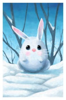 Mr Snow Bunny by csgirl
