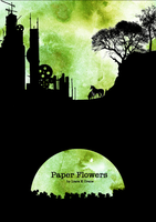 :: Paper Flowers: silhouette : by Lady-Liara