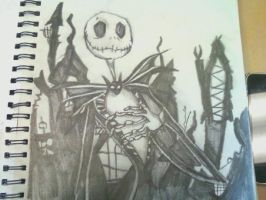 Jack Skellington by Panicatthedisco7