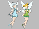 Sailor Disney Fairies by attercopter