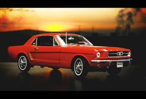 Ford Mustang 64 2 by patrik145