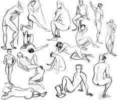 Lifedrawing 1 by Engelen