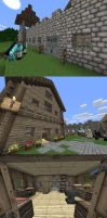 Minecraft Build: Survival House by KupoGames